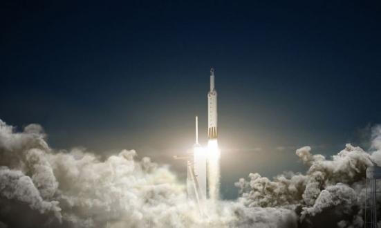Falcon Heavy'nin kalkış saati değişti!