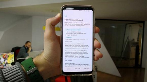 Galaxy S8 Oreo güncellemesi Türkiye'de!