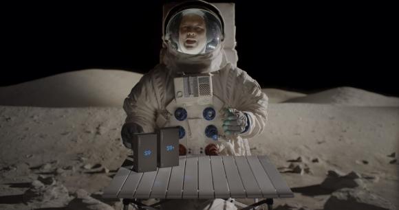İlk Galaxy S9 kutu açılış videosu Ay'dan geldi!