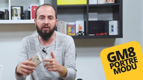 Tek kamera ile portre çekilir mi? – GM 8 kamera özellikleri