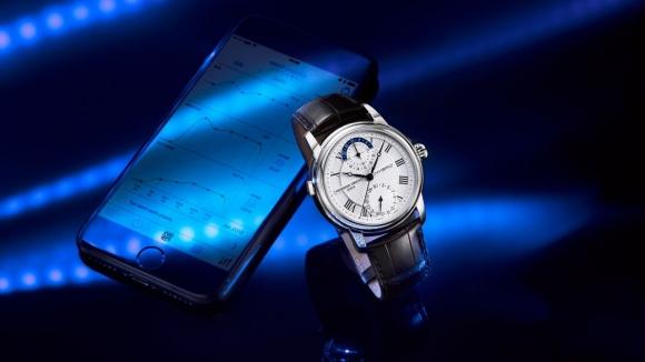 İlk mekanik akıllı saat Frederique Constant'tan!