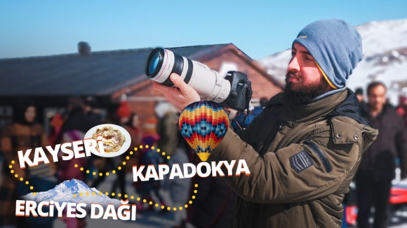 Canon 6D Mark II ile fotoğraf turu! – Kayseri Vlog'u yayında!