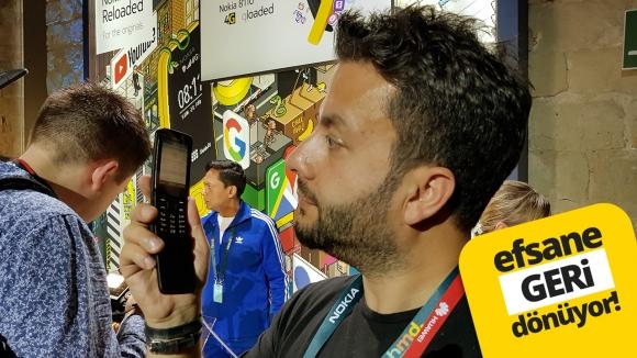 Matrix telefonu Nokia 8110 4G ön inceleme!