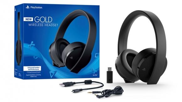 PlayStation 4 için yepyeni kulaklık seti!