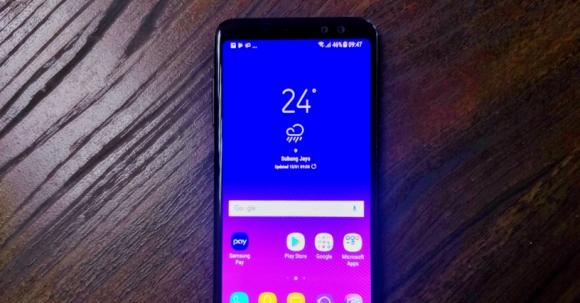 Samsung Galaxy A8+ için güncelleme yayınlandı!