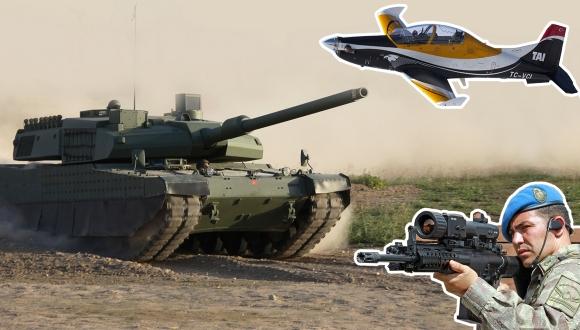 İşte Türkiye'nin yerli askeri silah teknolojileri!