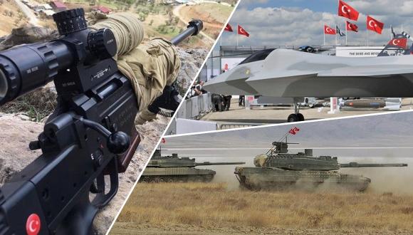 Türkiye'nin yerli silah teknolojileri!