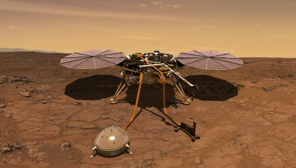 InSight uzay aracı test videosu yayınlandı!