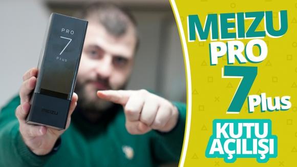 İki ekranlı Meizu Pro 7 Plus kutusundan çıkıyor!