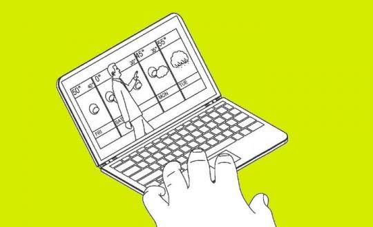 Microsoft ilginç bir mobil bilgisayar patenti aldı!