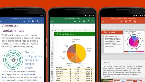 Android ve iOS için Office güncelleniyor!