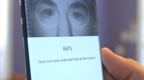 Android için iris tarama standart hale geliyor!