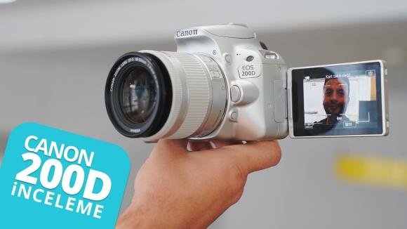 Canon 200D inceleme! – YouTuber olmak isteyenler kaçırmasın!