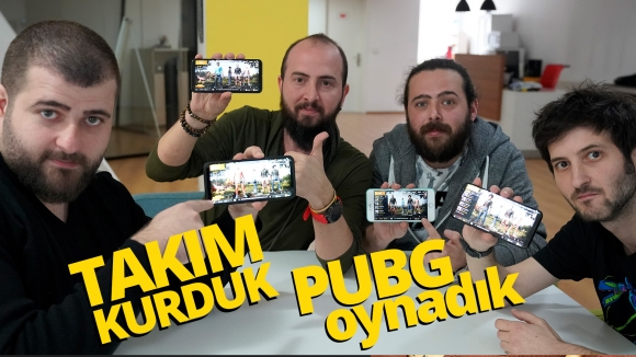 Takım kurduk, PUBG Mobile oynadık!