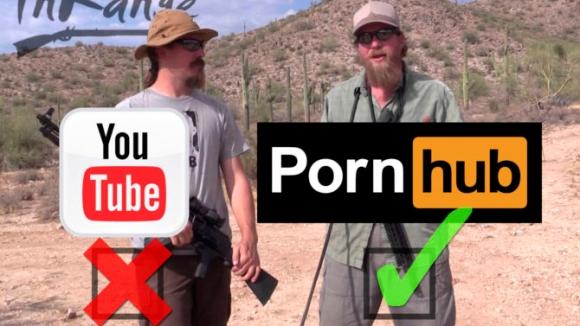 Yasaklanan silah kanalı Pornhub'a geçti!