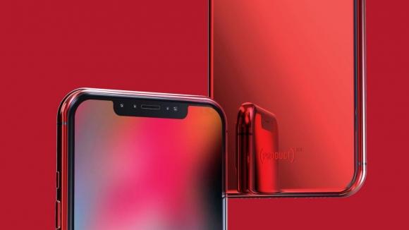 Kırmızı iPhone X nasıl olacak? (Video)