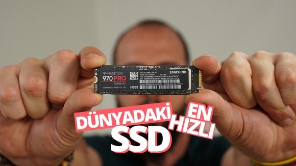 Samsung 970 Pro inceleme – Dünyanın en hızlı SSD'si
