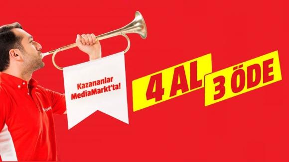 MediaMarkt'tan 4 al 3 öde kampanyası!