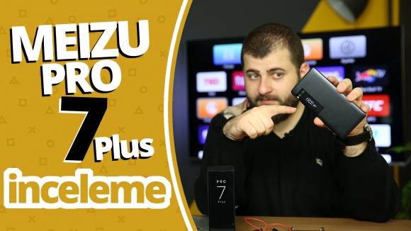 Çift ekranlı Meizu Pro 7 Plus inceleme