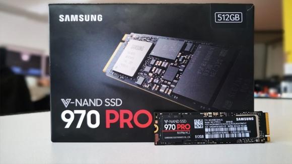 Samsung 970 Pro NVMe M.2 hız şovu yapacak!