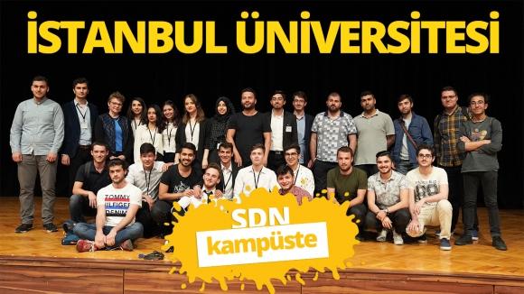 İstanbul Üniversitesi'ndeyiz! SDN Kampüste #3