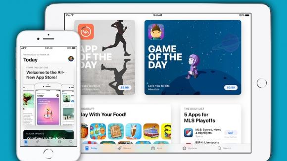 Yeni App Store tasarımı Apple'a yaradı!