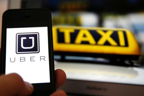 Taksiciler, UBER sürücüsüne saldırdı! +18!