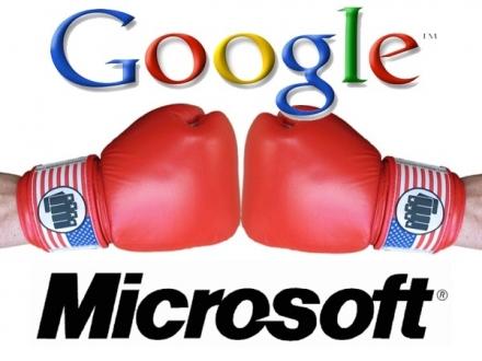 Microsoft ile Google arasında kıyasıya rekabet!