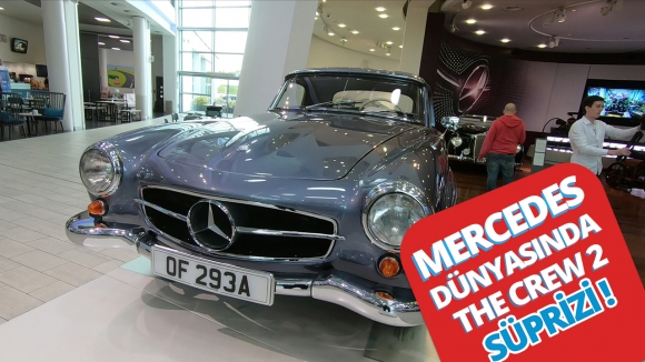 Mercedes Dünyasını gezip, oyun oynadık!