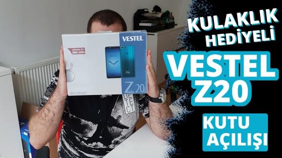 Vestel Venus Z20 kutusundan çıkıyor!