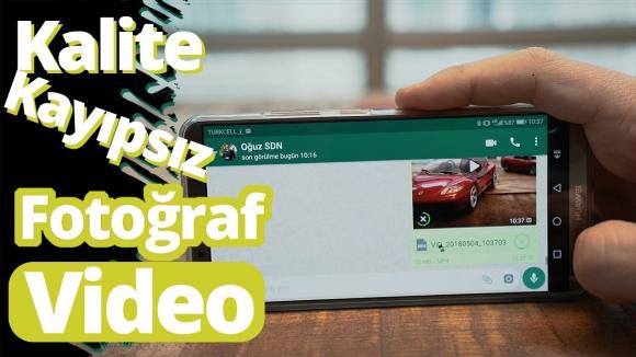 WhatsApp video ve fotoğrafları nasıl kayıpsız gönderilir? – Video