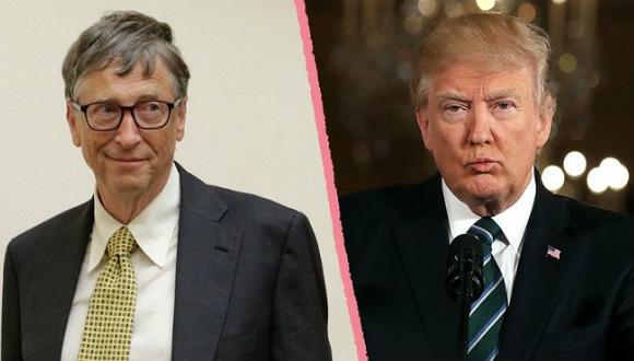 Bill Gates, Trump hakkında ağır konuştu!