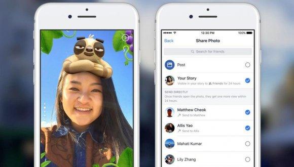 Facebook Hikayeler yeni özelliğine kavuşuyor!