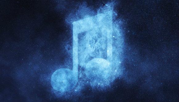 Galaksimizin müziği yapıldı!