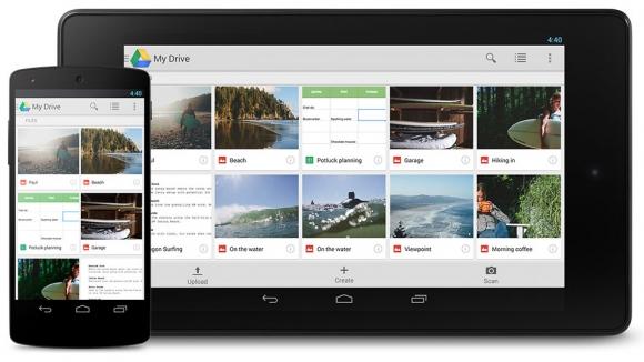 Google Drive güncellendi!