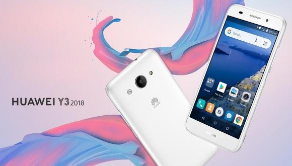 Huawei Y3 2018 tanıtıldı! İşte cihazın detayları!