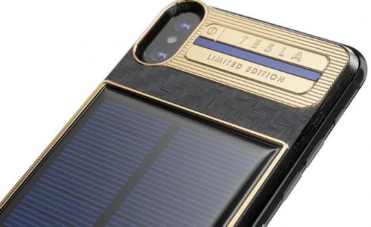 Elon Musk için yapılan iPhone X kılıfı, telefondan pahalı!