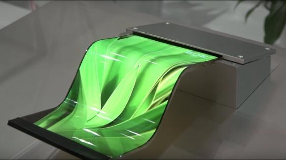 Huawei, katlanabilir telefon ekranı için imza attı!