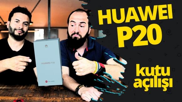 Huawei P20 kutu açılışı