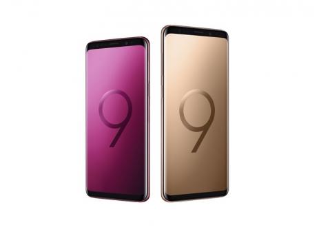 Samsung Galaxy S9 ve S9+ için renk yelpazesi genişliyor!