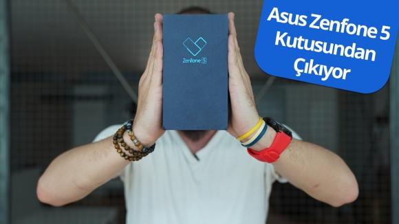 Asus Zenfone 5 kutusundan çıkıyor!