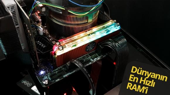 Karşınızda dünyanın en hızlı RAM'i XPG Spectrix D80!