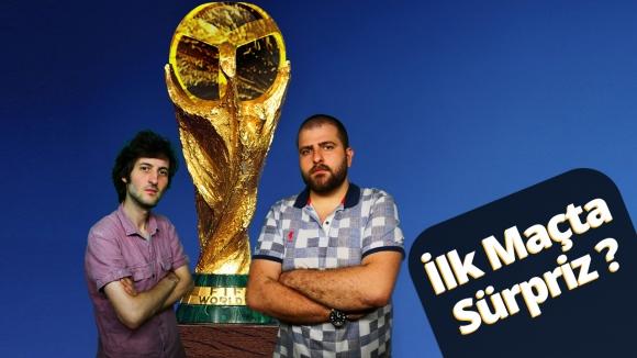 FIFA 18'de Dünya Kupası 2018 – İlk maçta sürpriz