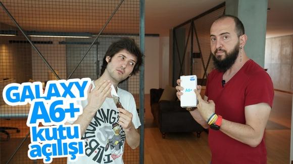 Samsung Galaxy A6 Plus kutu açılışı