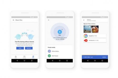 Google, Android için Airdrop özelliğini getirebilir!