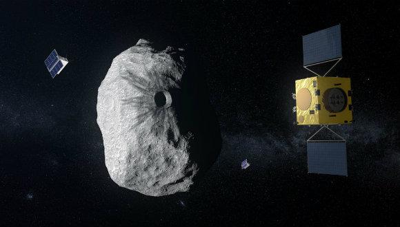 Uzay aracı ile asteroit çarpışacak!