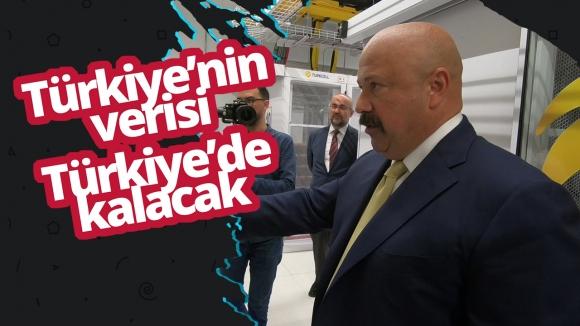 Türkiye'nin verisi, Türkiye'de kalıyor! (Video)