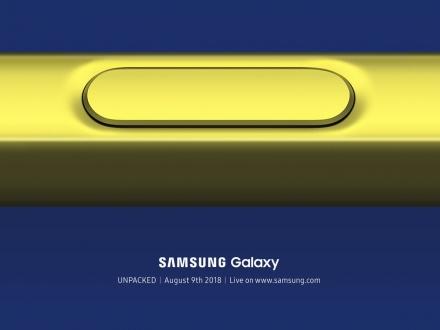 Samsung, Galaxy Note 9 çıkış tarihini duyurdu!
