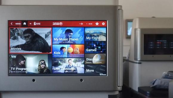 THY uçak içi eğlence sistemini mobile taşıdı!