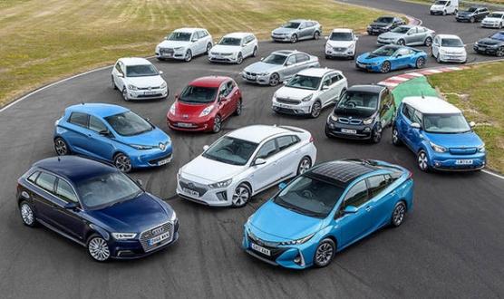 2018'de ne kadar elektrikli ve hibrid otomobil satıldı?